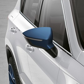 Spiegelkappen Connect Blue SEAT Ateca