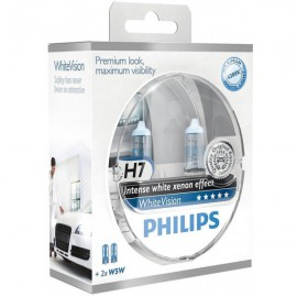 Philips White Vision H7 lampenset